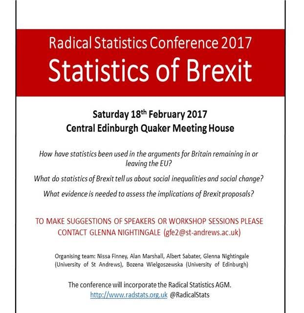 Statistics of Brexit, Central Edinburgh Quaker Meeting House